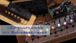 LED Multiplexing mit Schieberegister